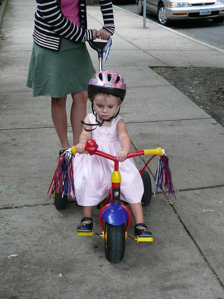 Pretty bike rider
