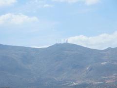 Sierra de Loja y aerogeneradores