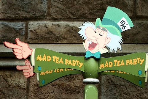 Disney - This Way to the Mad Tea Party