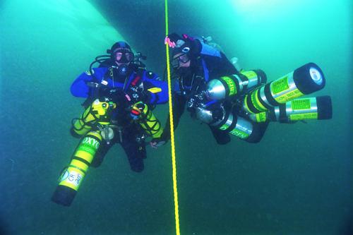 Tri Mix Scuba Diving : Trimix training thailand technical diving