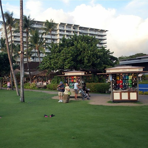 Whalers Village, right on Ka'anapali Beach in West Maui.