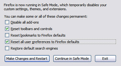 Remove Unwanted Firefox Issues