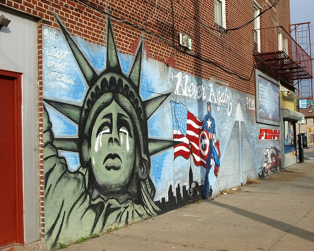 South bronx graffiti new york city a gallery on flickr for Big pun mural bronx
