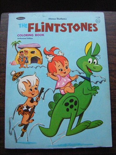The Flintstones coloring book, 1964 | Hoppy the Hopperoo get… | Flickr