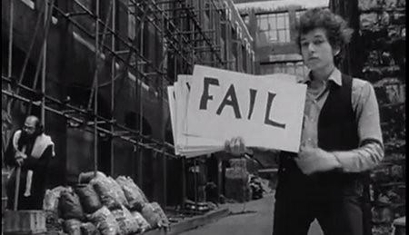 Bob Dylan: FAIL
