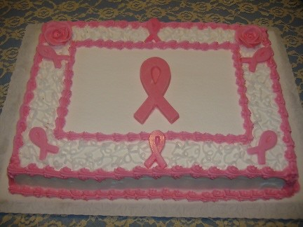 Free Farm on Breast Cancer Awareness Cake   Flickr   Photo Sharing
