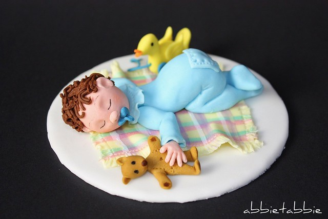 baby shower cake topper flickr photo sharing