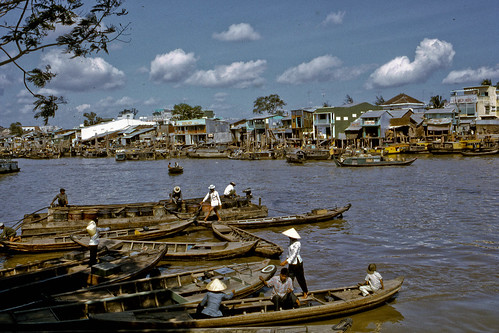 Bao Dinh Canal My Tho in 1969 by Lance & Cromwell (home safe-pictures coming)