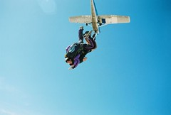 parachute(0.0), freestyle motocross(0.0), freestyle skiing(0.0), parachuting(0.0), windsports(0.0), tandem skydiving(1.0), wing(1.0), air sports(1.0), sports(1.0), extreme sport(1.0),