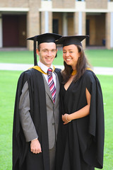 Graduation Portrait - Matthew and Belinda