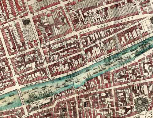Old Maps of Dublin