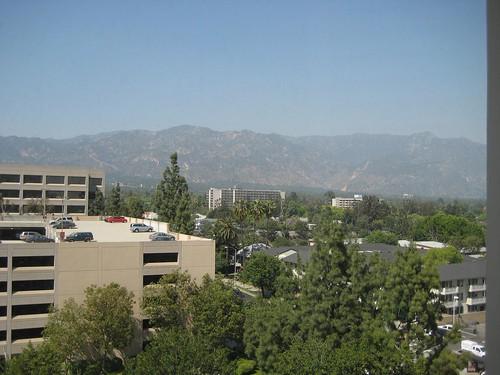 View from Westin Pasadena