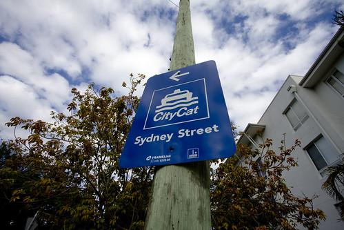 Sydney street sign