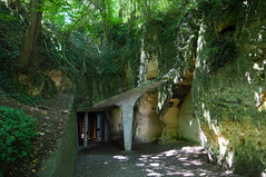 Maastricht - Entrance to the Sint Pietersberg Caves / Mines