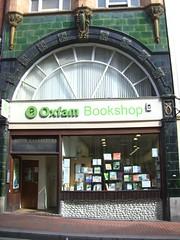 Oxfam art nouveau shop front