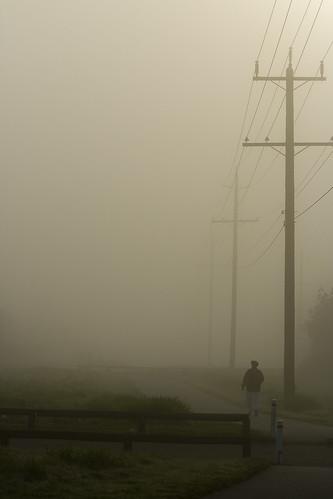 morning mist fog surrey september morningmist morningfog vob kvdl