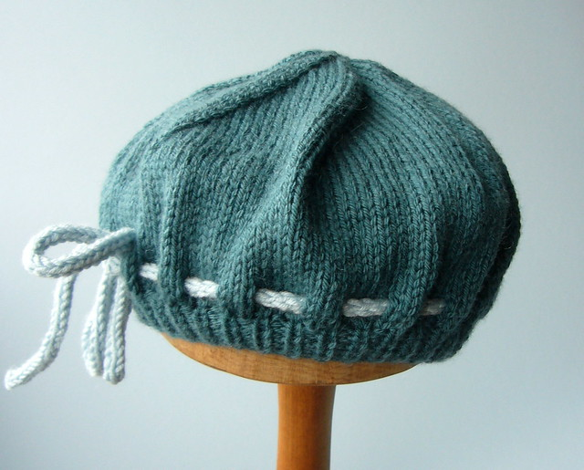 KNIT PATTERNS BERET   Free Patterns