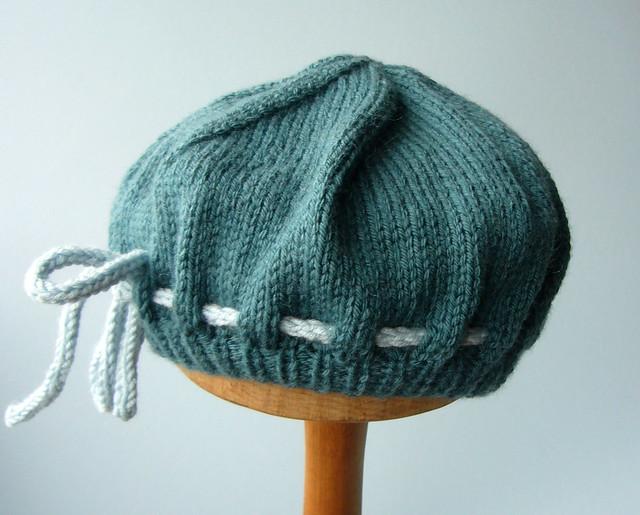 Knitting Wheel Patterns Free : Knit patterns beret « free