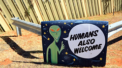 Humans Also Welcome