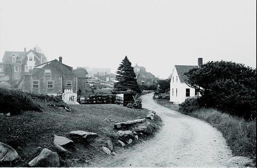 Monhegan Main Road