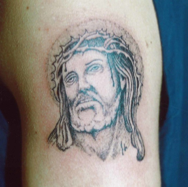 Gesu Americo Tattoo Laquila Flickr Photo Sharing