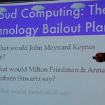 Cloud Computing, the technology bailout plan?