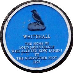 Photo of William Parker blue plaque