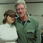 John Hammond with Claudia Marshall at WFUV
