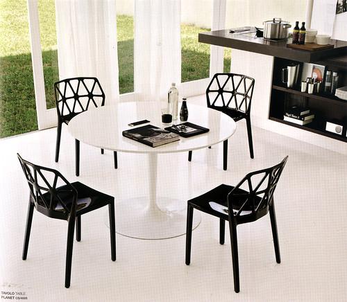 mesa Planet y silla Alchemia