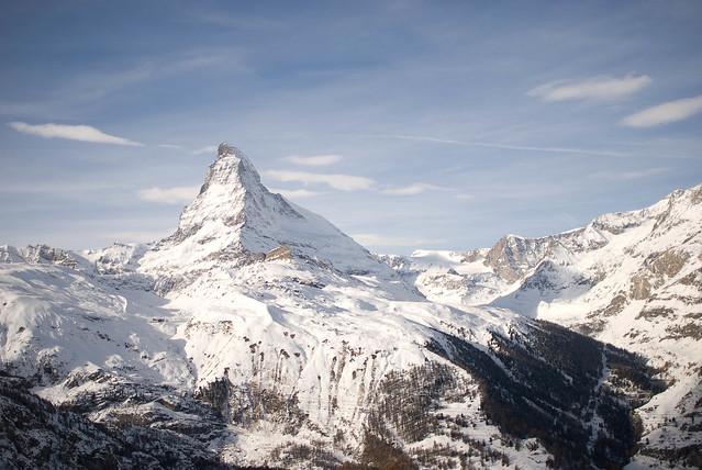 Matterhorn - Flickr CC davidchief