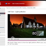 BBC News Feature on Light Pollution