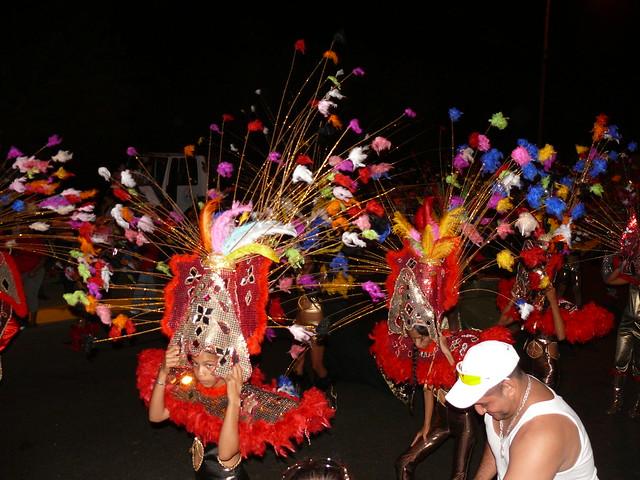 Desfile de Carnaval 2009 , El Tigre . Estado Anzoátegui - Venezuela