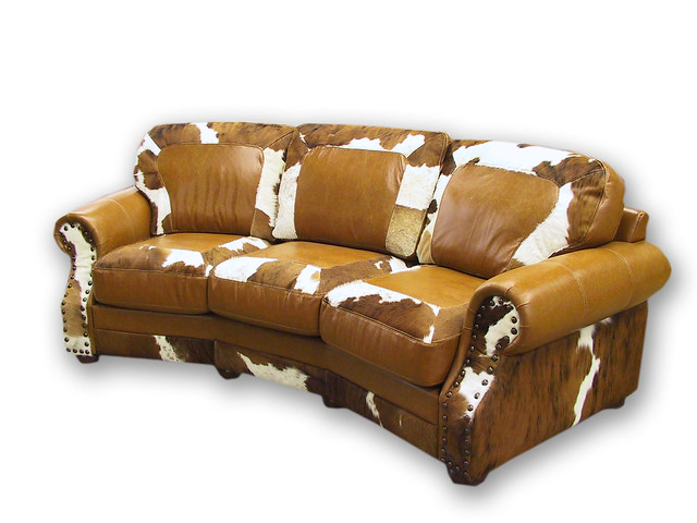 Curved Cowhide Leather Sofa Flickr Photo Sharing