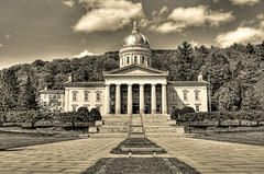 Montpelier VT. - Vermont State House Capitol 06