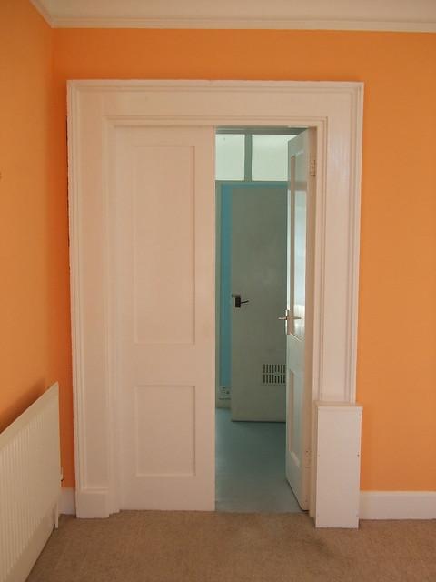 Double doors to bathroom, Admiralty House | Flickr - Photo ...