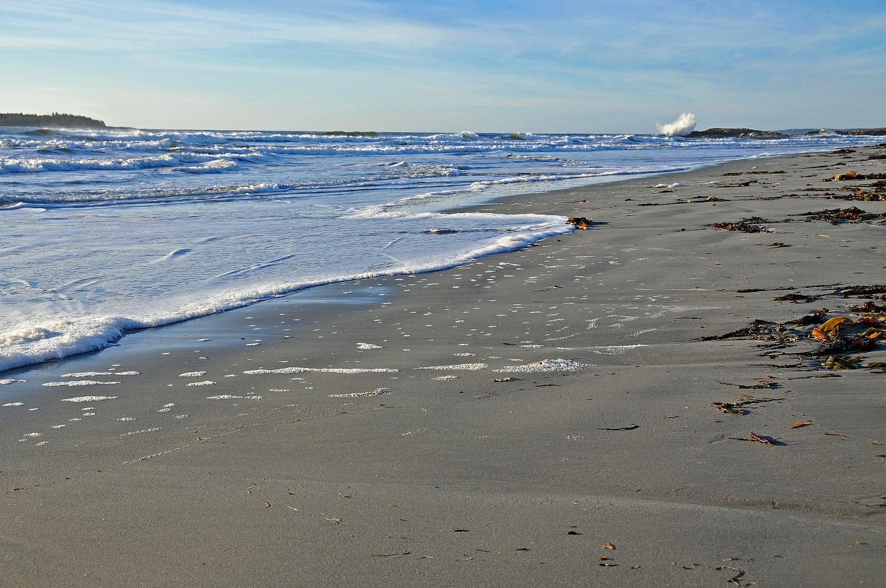 Nova Scotian beach