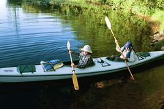 canoe(0.0), skiff(0.0), canoeing(0.0), boats and boating--equipment and supplies(1.0), vehicle(1.0), watercraft rowing(1.0), kayak(1.0), boating(1.0), watercraft(1.0), sea kayak(1.0), oar(1.0), boat(1.0), paddle(1.0),