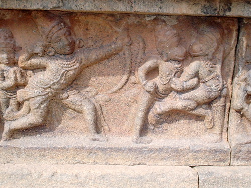 Ramayana In carving