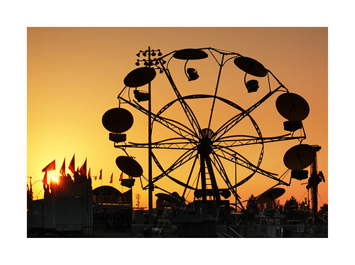 carnival sunset silhouette culture gradient redroomstudios