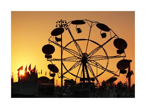 carnival sunset silhouette culture gradient redroomstudios