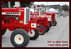 SILVER RED TRACTORS (Like it? No? - leave a comment)