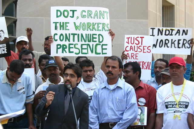 Exploited H2B workers request continued presence to remain ...