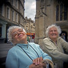 They Charmed The Past From Me With A Smile. Bath Abbey Churchyard, Bath. by Terrorkitten