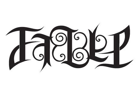 fable ambigram