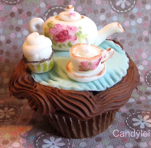 Royal Albert Tea and Cupcakes