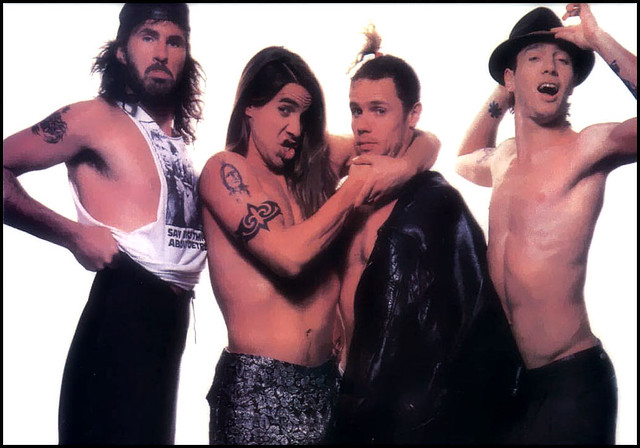 The Band - Red Hot Chili Peppers