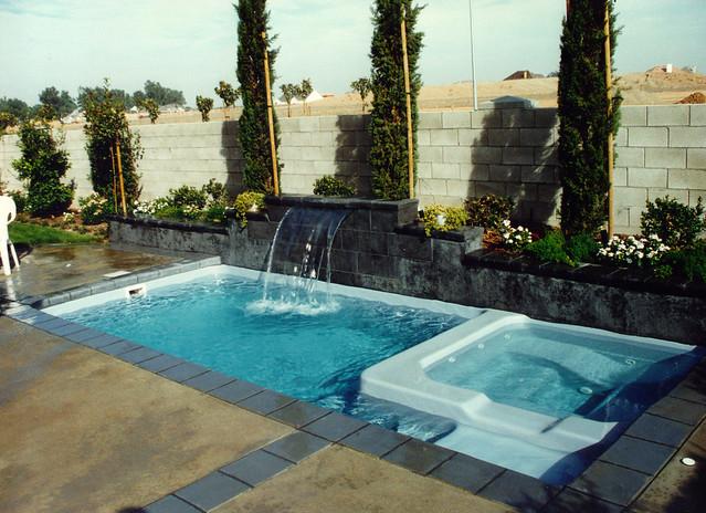 Viking Pools Barbados Model Rectangle Inground Fiberglass Swimming Pool An Album On Flickr