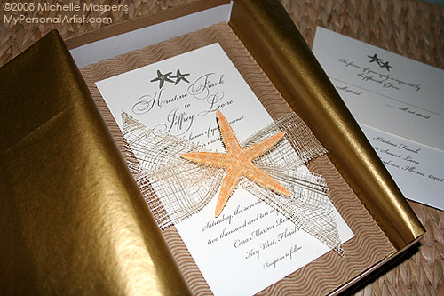 2801372898 671005c479jpg With starfish wedding invitations in a box