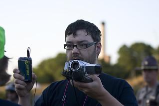 Chuck on the scene - Citizen journalism