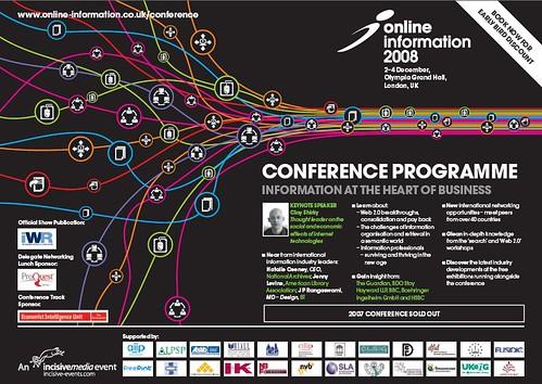 Online Information conference program